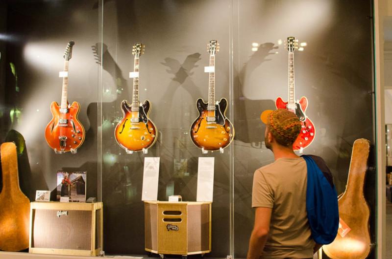 Guitars Museum in Umea - Västerbotten Schweden