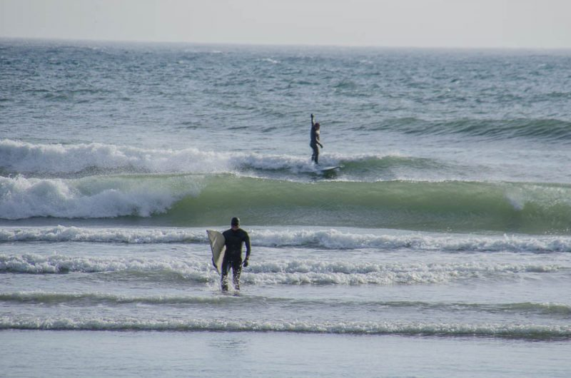 Oregon-Pazifik-Surfer