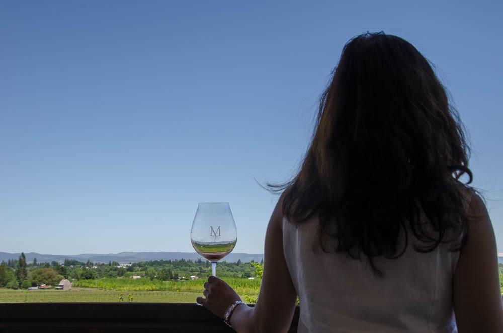 Oregon: Weinverkostung