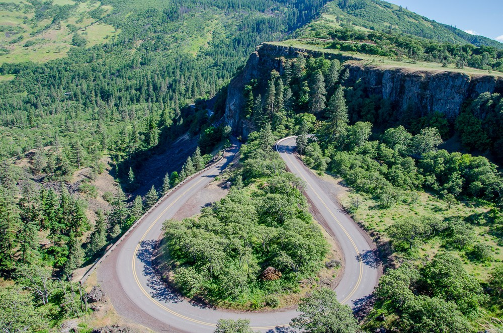 Oregon Rundreise: Historic Route 30