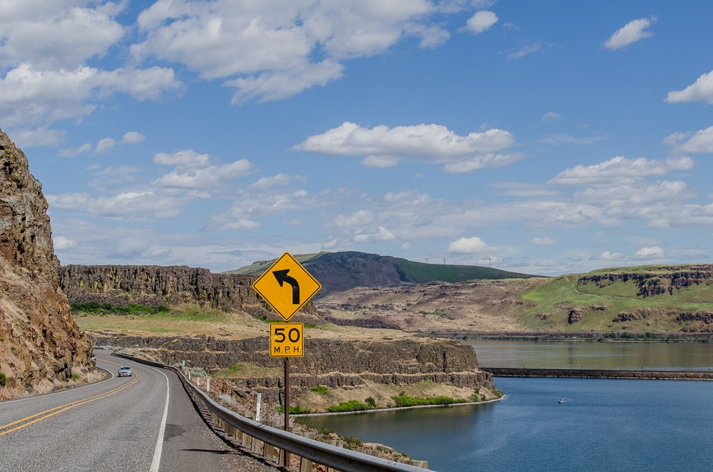 Oregon Rundreise: Columbia River