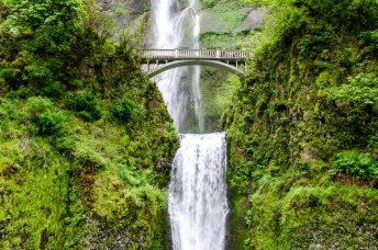 Multnomah Wasserfall in Oregon