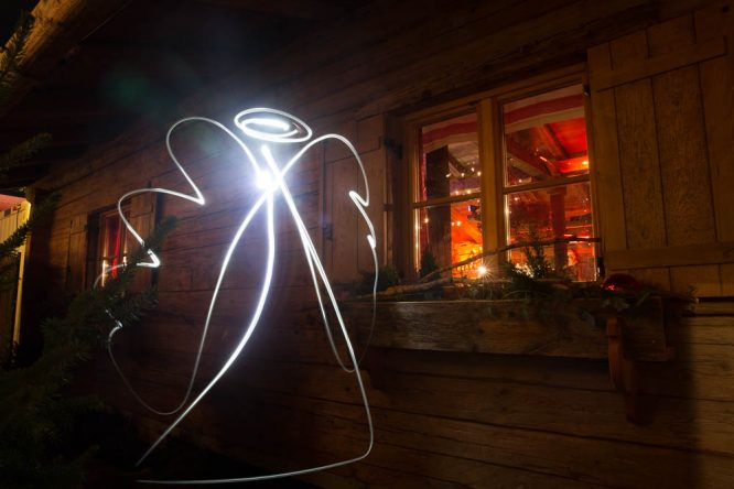 Lichtquelle fürs  Lightpainting: LED - Lampe